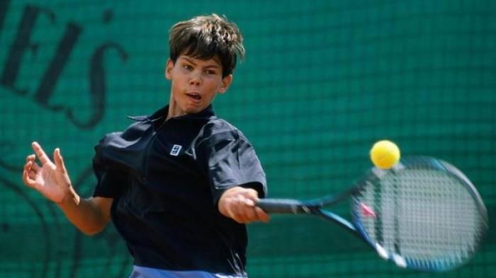 Rafa Nadal teenager