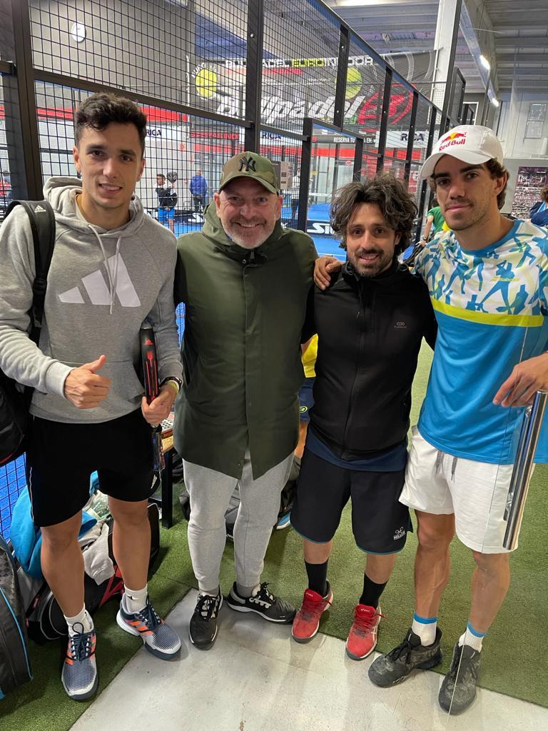 Alejandro Galan, Luigi Capodagli e Juan Lebron