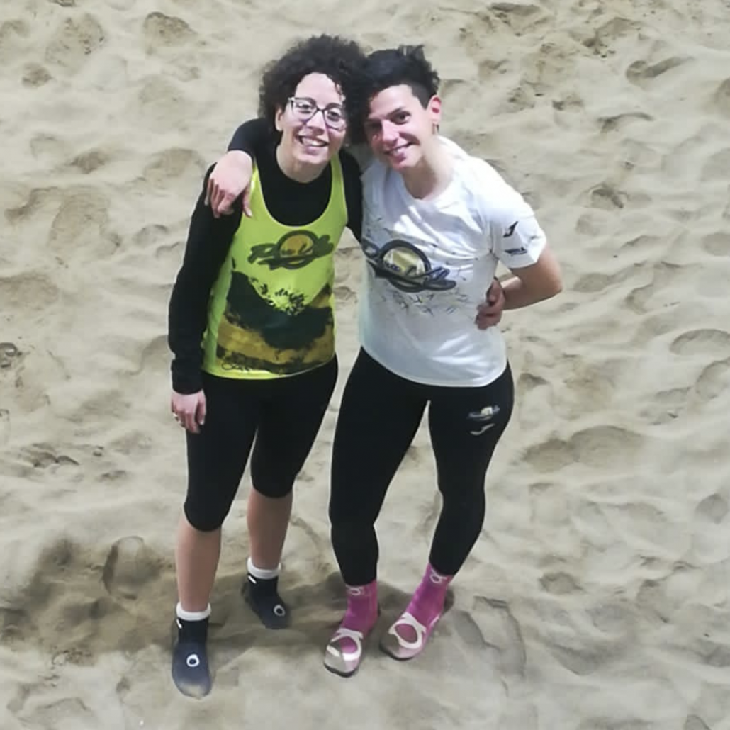 Claudia Brunelli ed Emanuela Donati