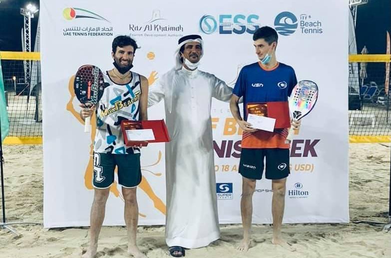 Beach Tennis: Tommaso Giovannini e Nikita Burmakin premiati a Dubai