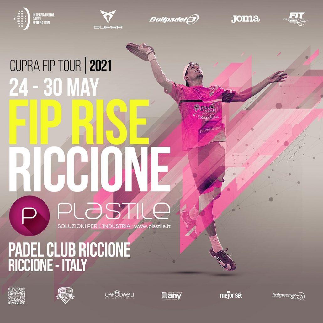 trofeo Plastile, torneo FIP Rise al Padel Club Riccione