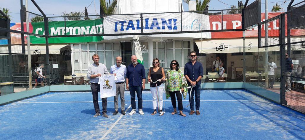 Sun Padel Riccione: taglio del nastro campionati italiani assoluti