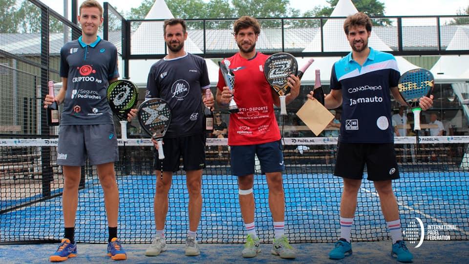 Nacho Gadea e Teo Zapata premiati per il successo nel torneo FIP Rise in Olanda