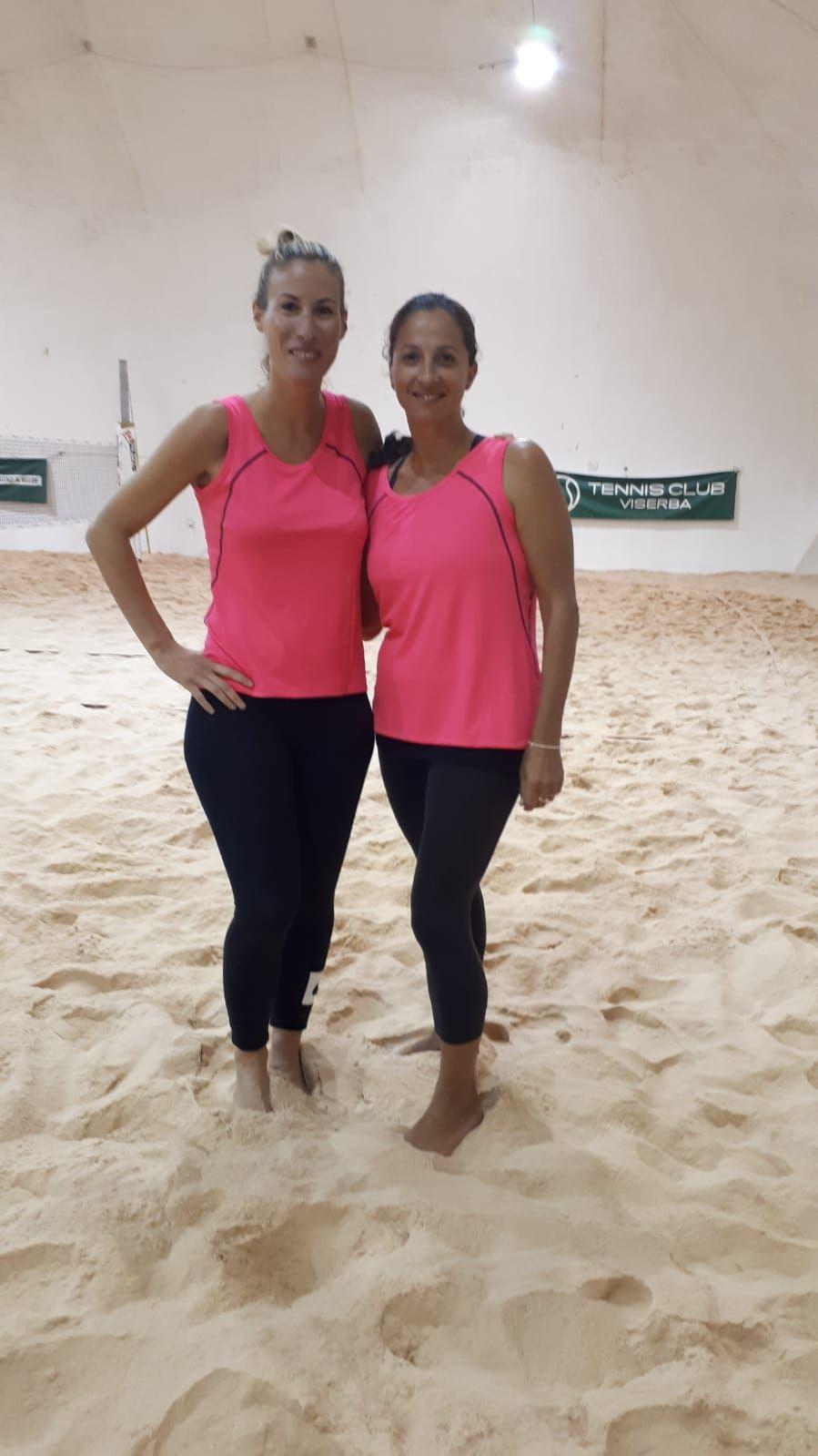 Beach Tennis Viserba: Elisa Cicchetti ed Elisa Macrelli