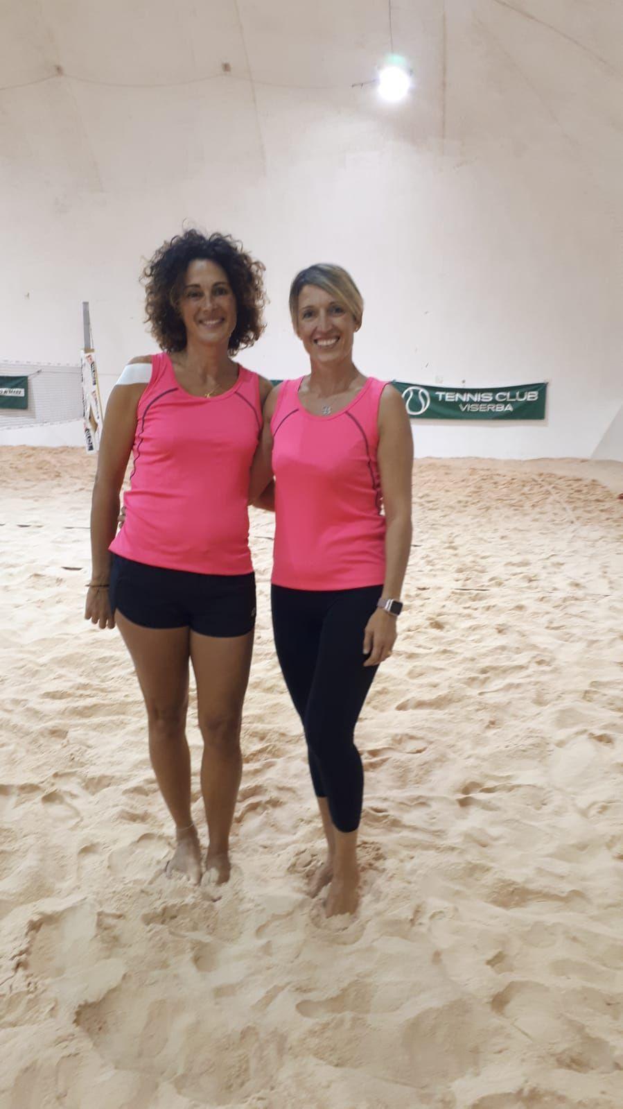 Beach Tennis Viserba: Giovanna Pedrosi e Barbara Galassi