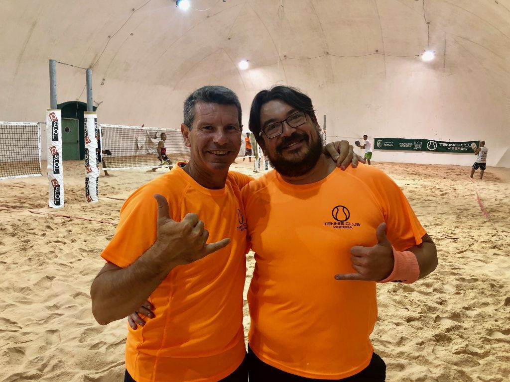 Beach Tennis Viserba: Roberto Rinaldi e Manuel Alvisi