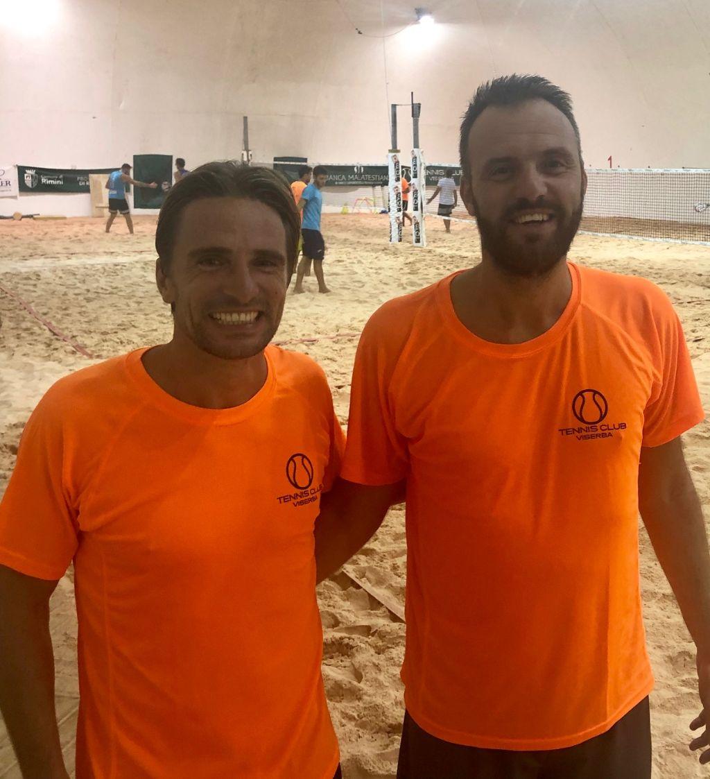 Beach Tennis Viserba: Bruno Bazzocchi e Rainer Crociati