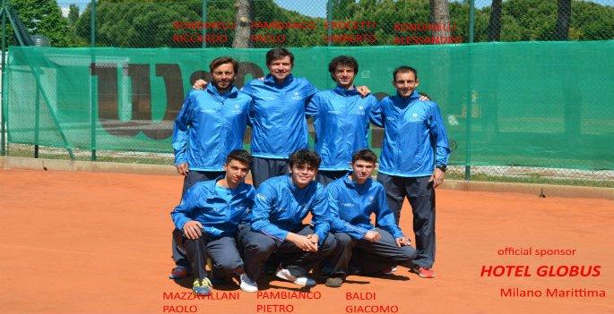 Circolo Tennis Cervia vola in serie C maschile
