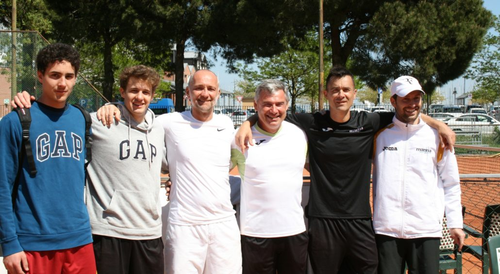 Serie C maschile: Marina Sport Center pareggia con il Tennis Club Imola