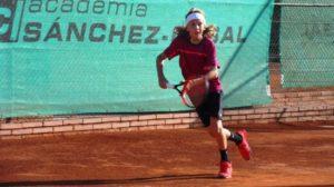 Il forlivese Jacopo Bilardo (Circolo Tennis Massa Lombarda)