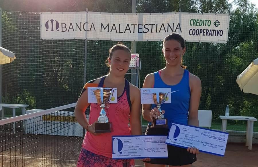 Giorgia Di Muzio e Chiara Rinaldi finaliste del torneo Open di Coriano