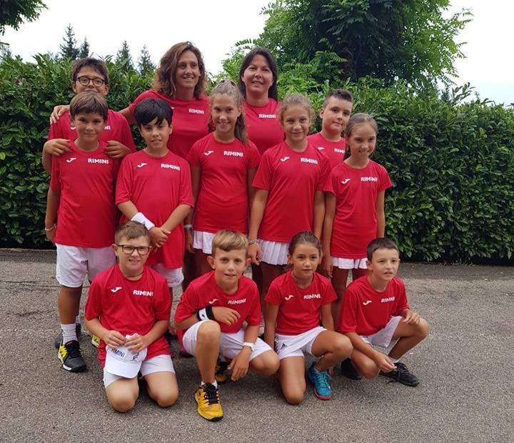 La squadra di Rimini di Coppa delle Province