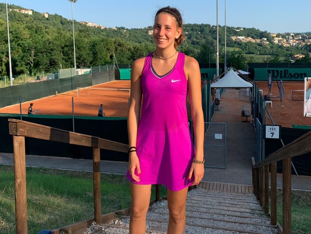 San Marino Junior Open: Caterina Pantoli