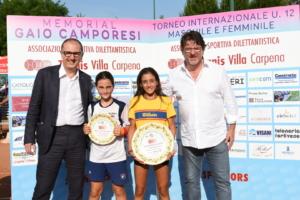 I fratelli Gaddo e Redo Camporesi premiano le finaliste