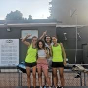La formazione femminile del Cicconetti Rimini festeggia la promozione in D1