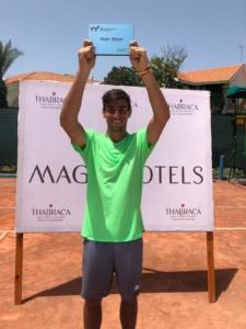 EIl ravennate Enrico Dalla Valle vincitore di due Futures ITF a Tabarka