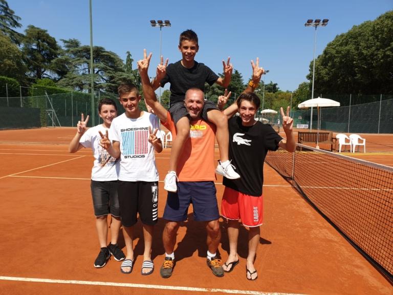 La squadra under 14 del Villa Carpena