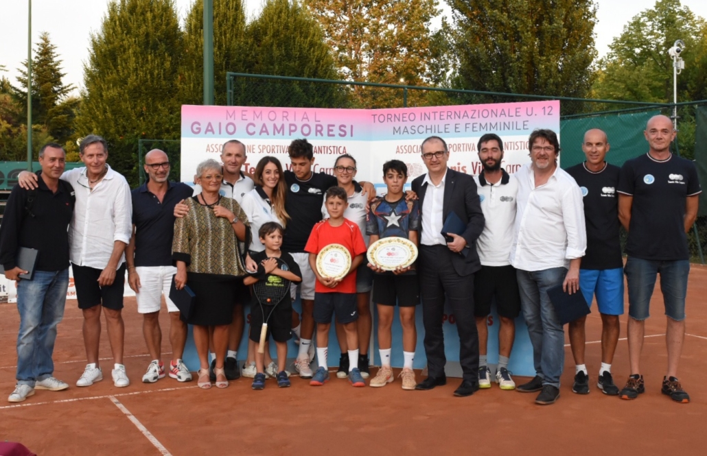 Memorial Gaio Camporesi: la premiazione di Pierluigi Basile e Michele Mecarelli