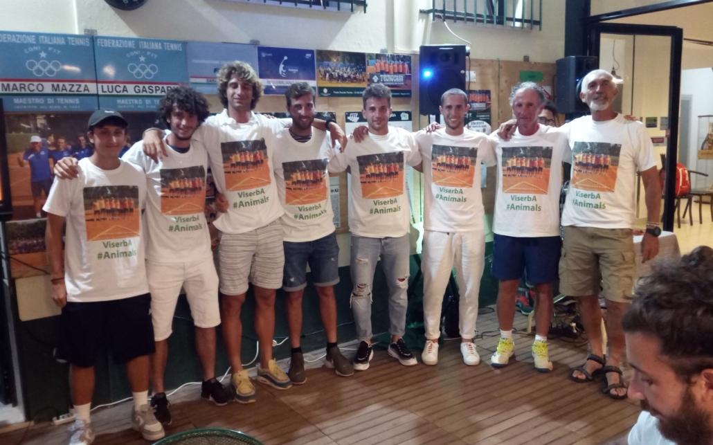 Tennis Viserba festa promozione A2