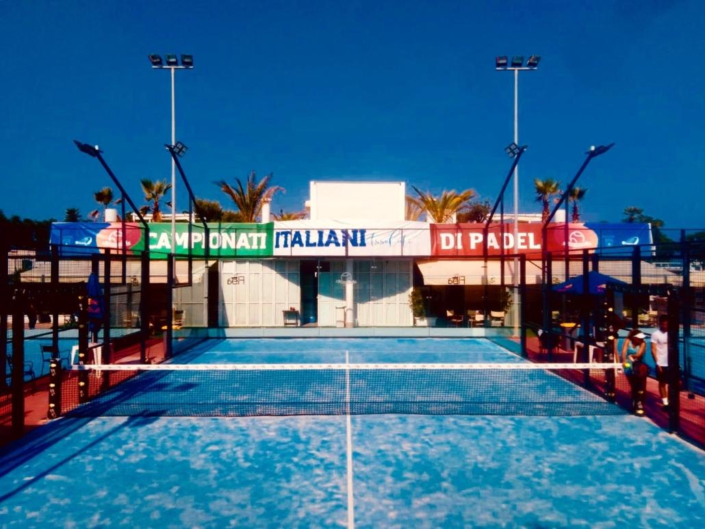 Campionati Italiani di padel: partite a Riccione le sfide dei tabelloni principali