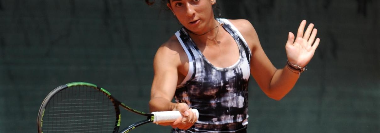 Camilla Ciani, giocatrice del Ct Zavaglia Ravenna