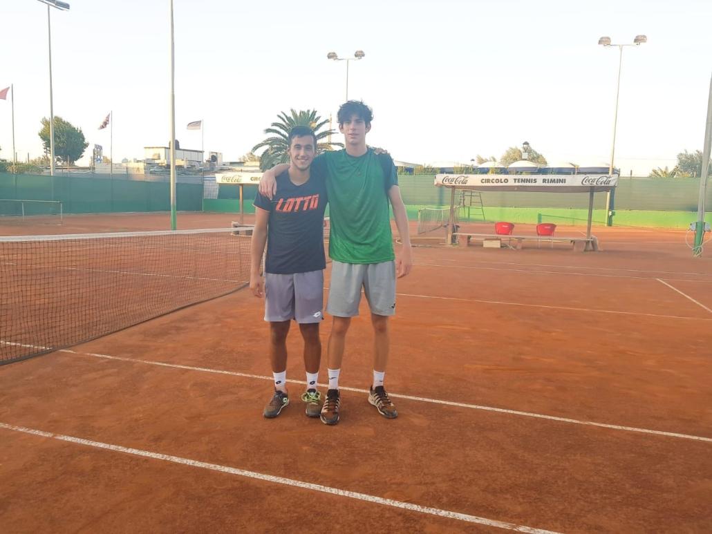 Marcello Serafini e Alessandro Pecci
