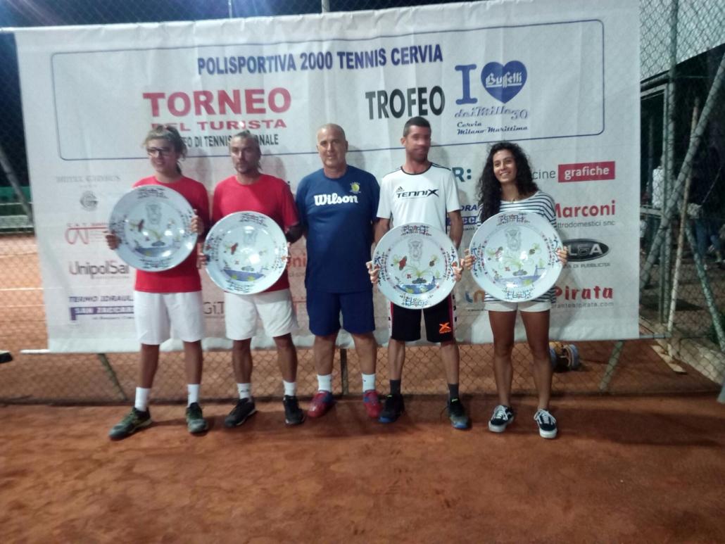 Polisportiva 2000 Cervia; i vincitori del Trofeo Buffetti 2019