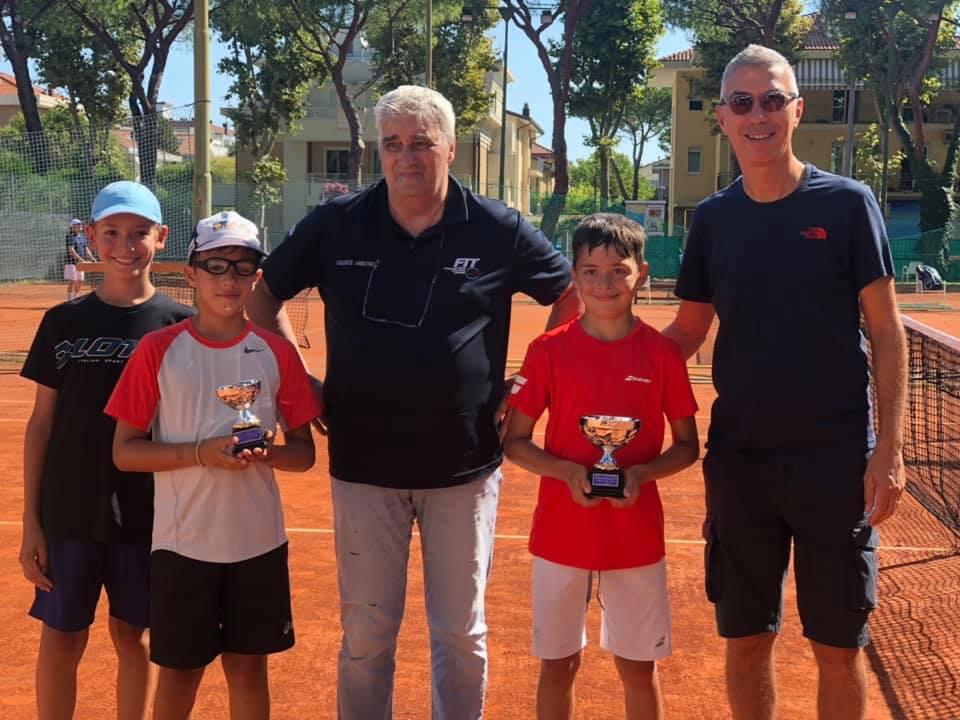 Tennis Club Riccione: la premiazione under 10 maschile