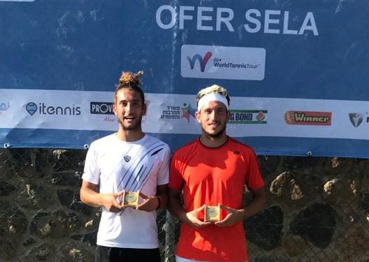 Per Andrea Picchione e Federico Bertuccioli primo titolo ITF