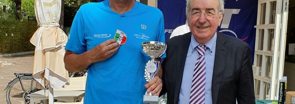 Paolo Pambianco campione italiano over 50