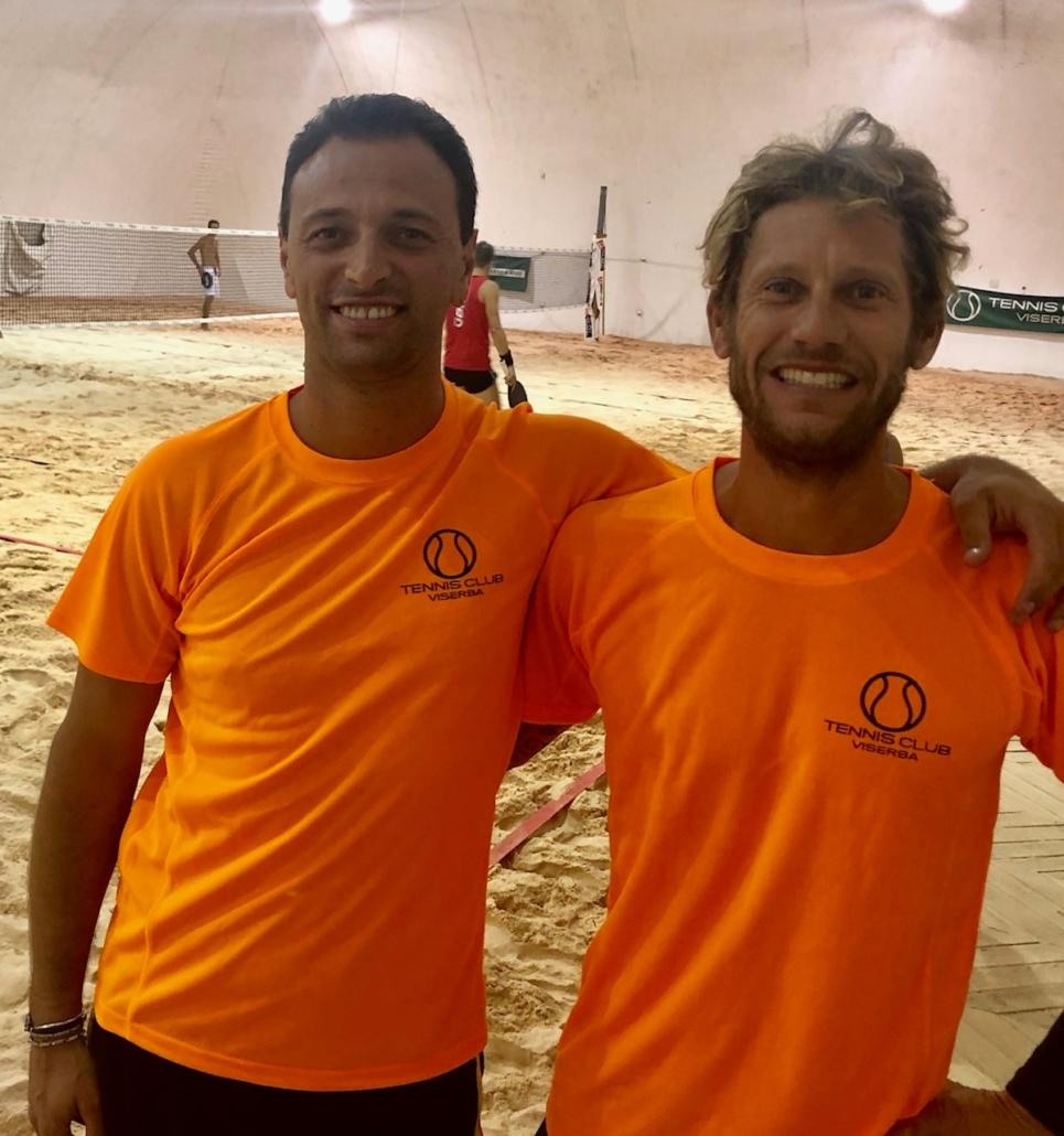Beach tennis Viserba: Andrea Filippini e Marco Bertozzi