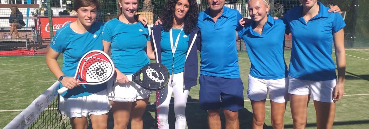 Mondiali junior padel: caterina calderoni e Maria Sole Ugolini