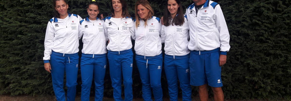 Tennis Club Faenza: la squadra di A1 femminile