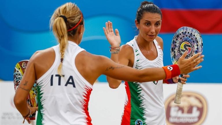 Beach Games: Giulia Gasparri e Sofia Cimatti
