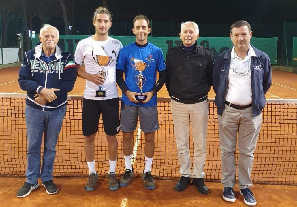 Open Cervia: premiazione di Andrea Picchione e Alessandro Rondinelli
