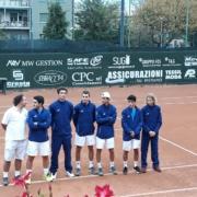 La squadra di serie A1 del CIrcolo Tennis Massa Lombarda