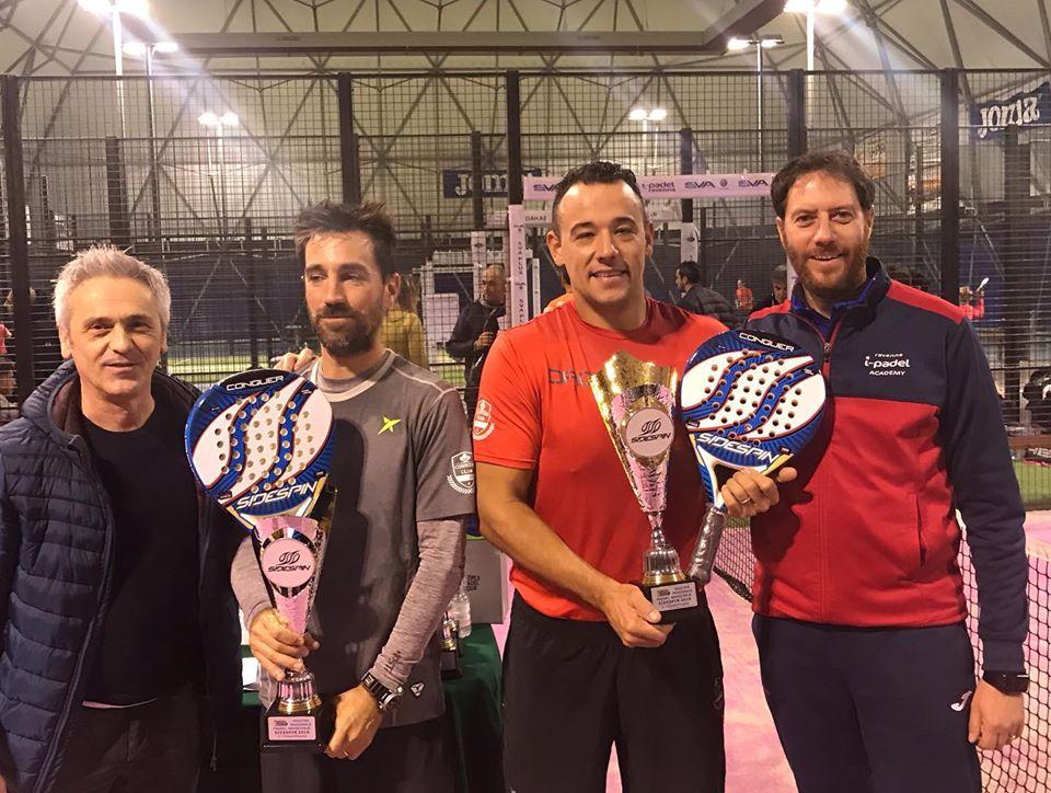 Master Circuito SideSpin: trionfano Levorato/Sarti, D'Errico/Signorini (femminile) e Succi/D'Ambrogio (misto)
