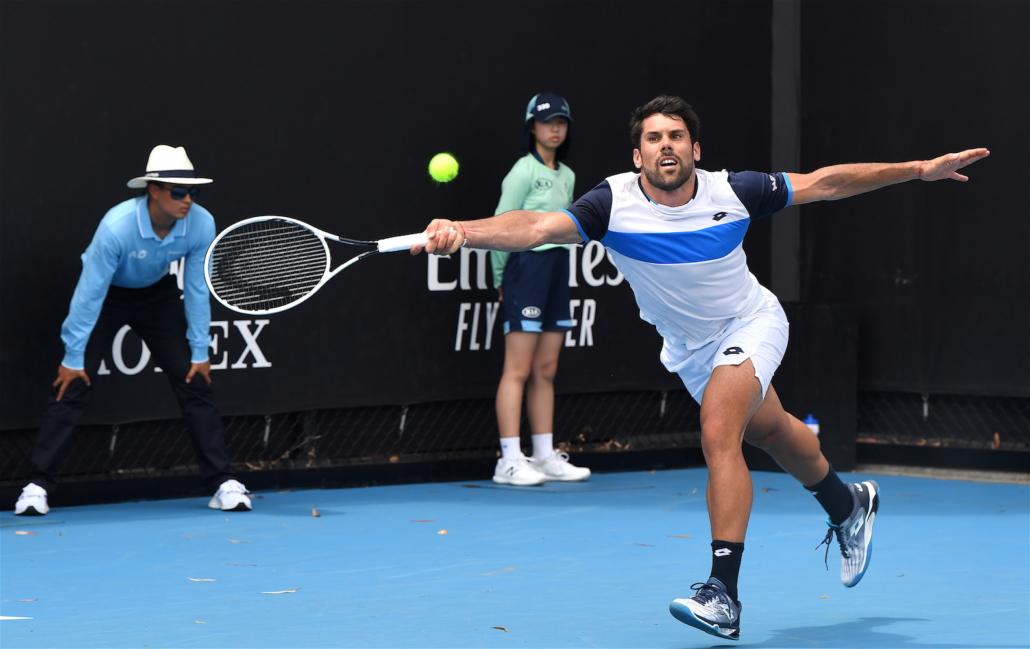 Australian Open: Federico Gaio