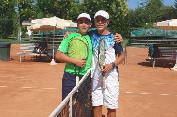 Alex Guidi e Pietro Augusto Bonivento