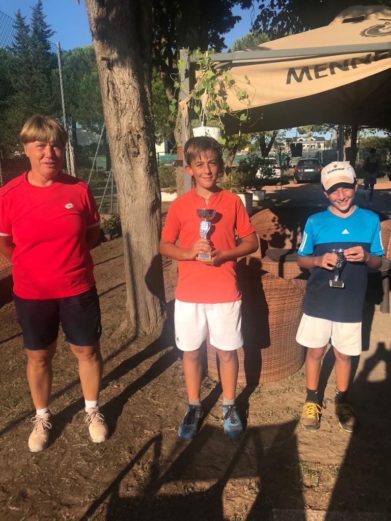 Diana Rolli fa il bis, Federico Baldinini domina l'Under 12 al Ten Pinarella