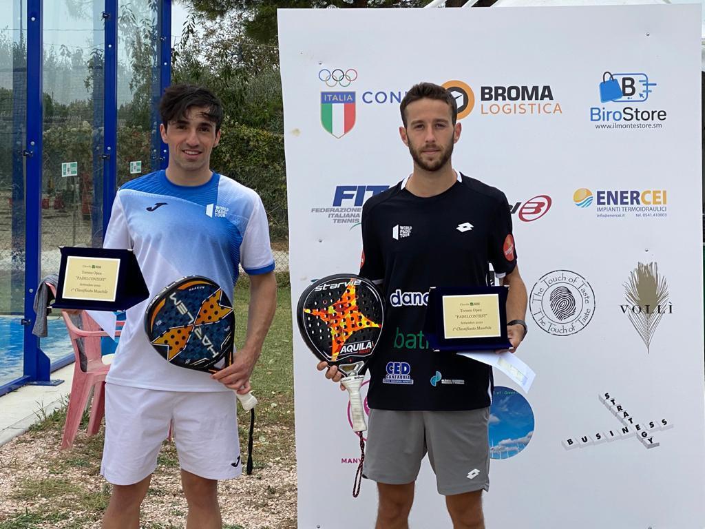 Perino-Gutierrez e Savini-Stellato si aggiudicano il Padel Contest all'Up Tennis