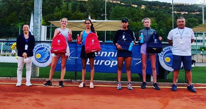 San Marino Junior Cup Under 14: premiazione doppio femminile