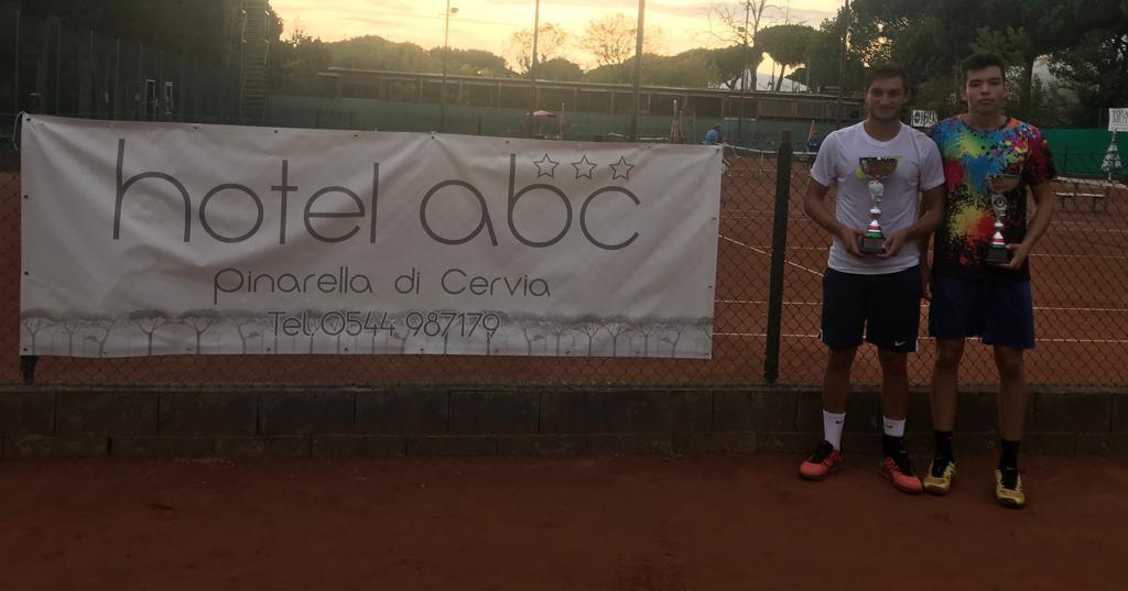 Giammarco Gabbanini trionfa nel torneo di 3ª di Pinarella