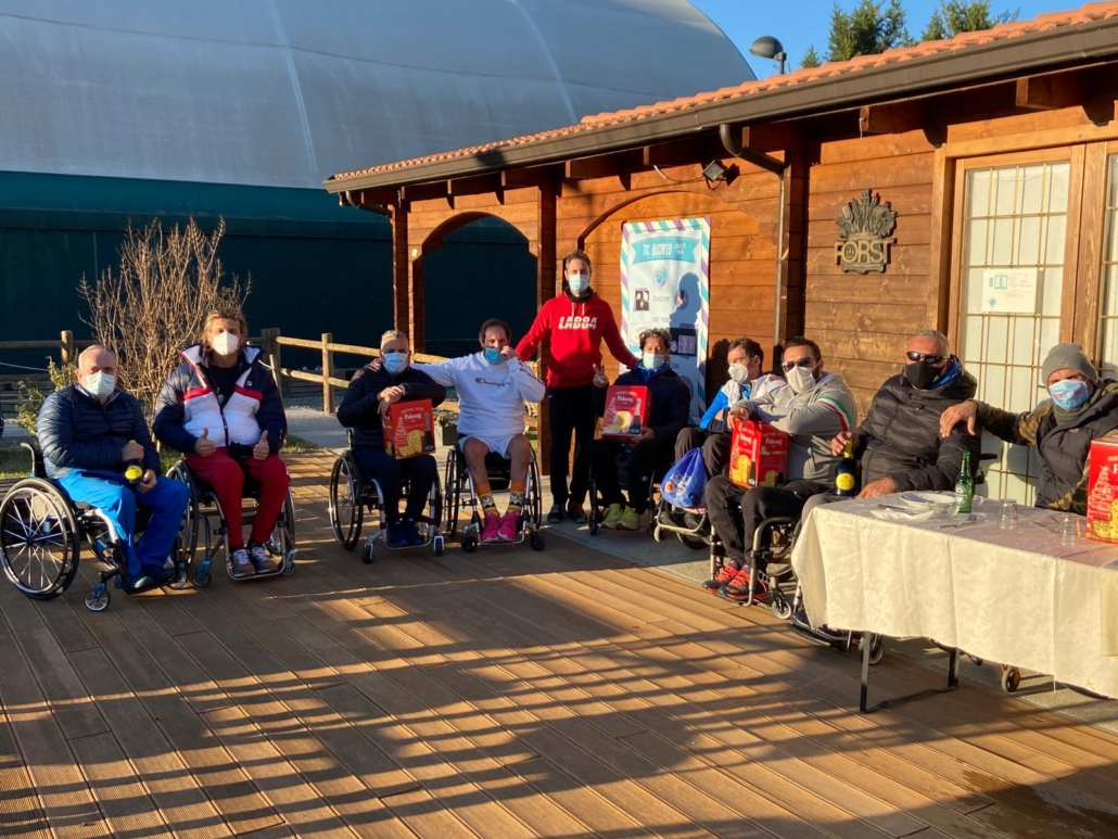 Tennis in carrozzina: Giovanni Enrico Zeni cala la doppietta nel torneo a gironi di Budrio