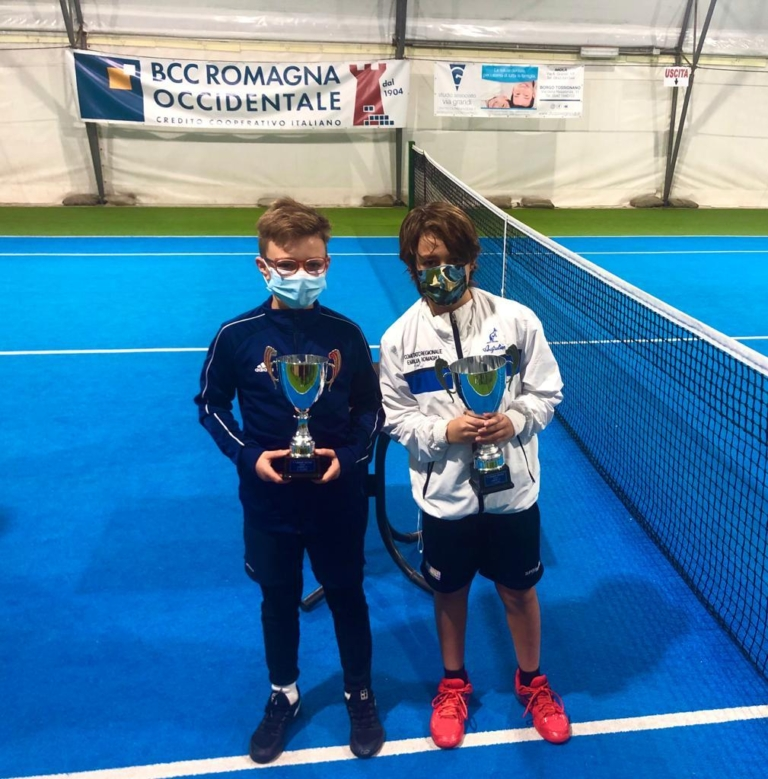Tennis Club Campanella Imola: premiazione Under 10 maschile