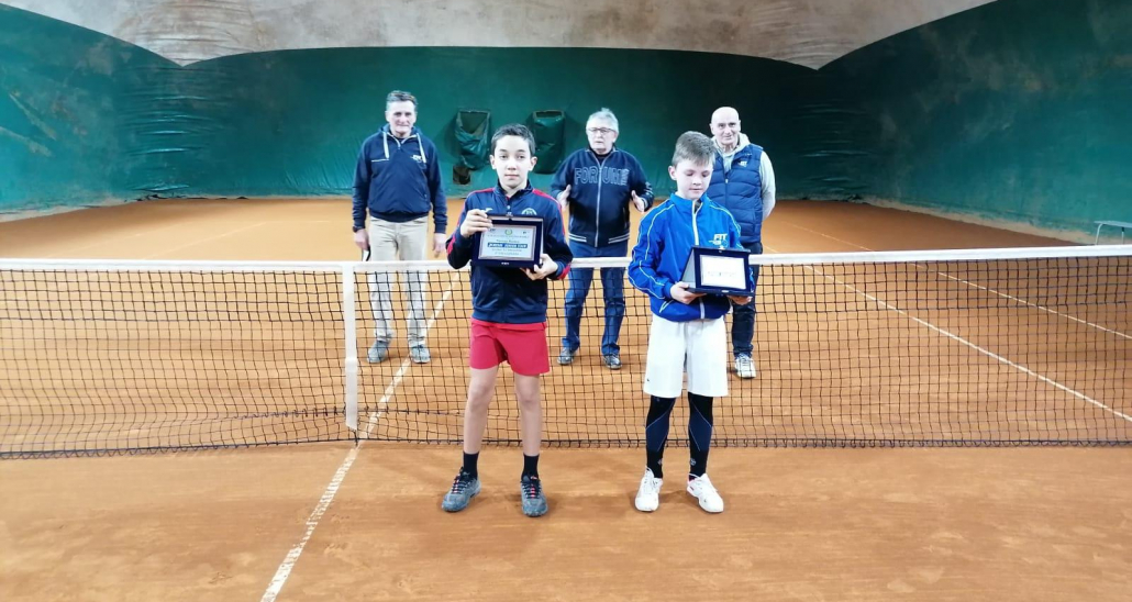 Joma Tour Forum Forlì: premiazione singolare maschile