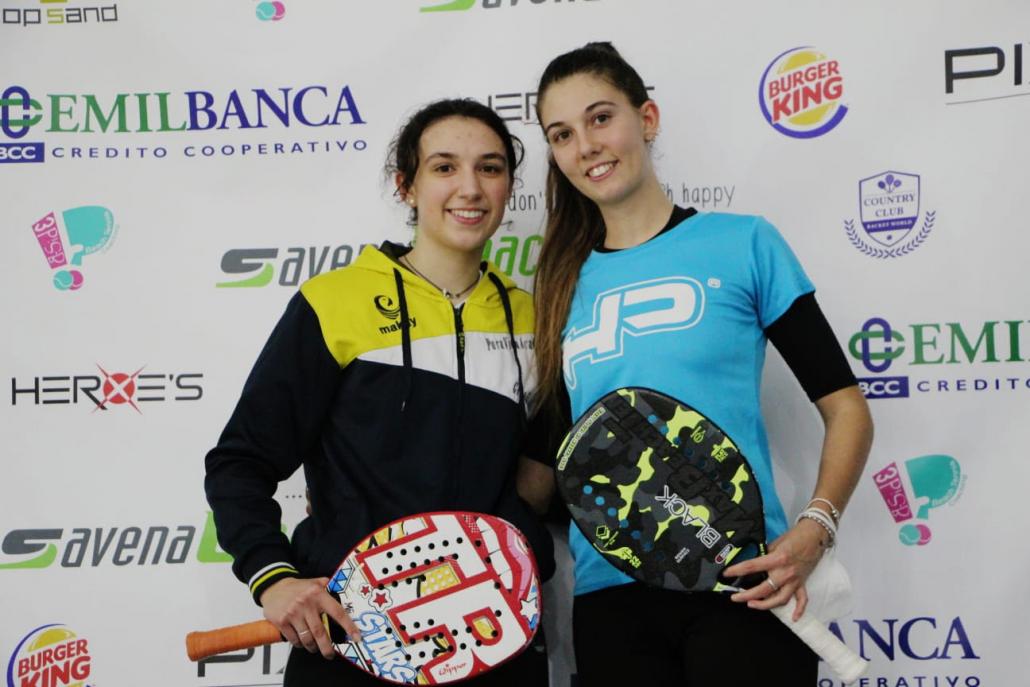 Beach Tennis: le sorelle Ilaria e Alice Grandi
