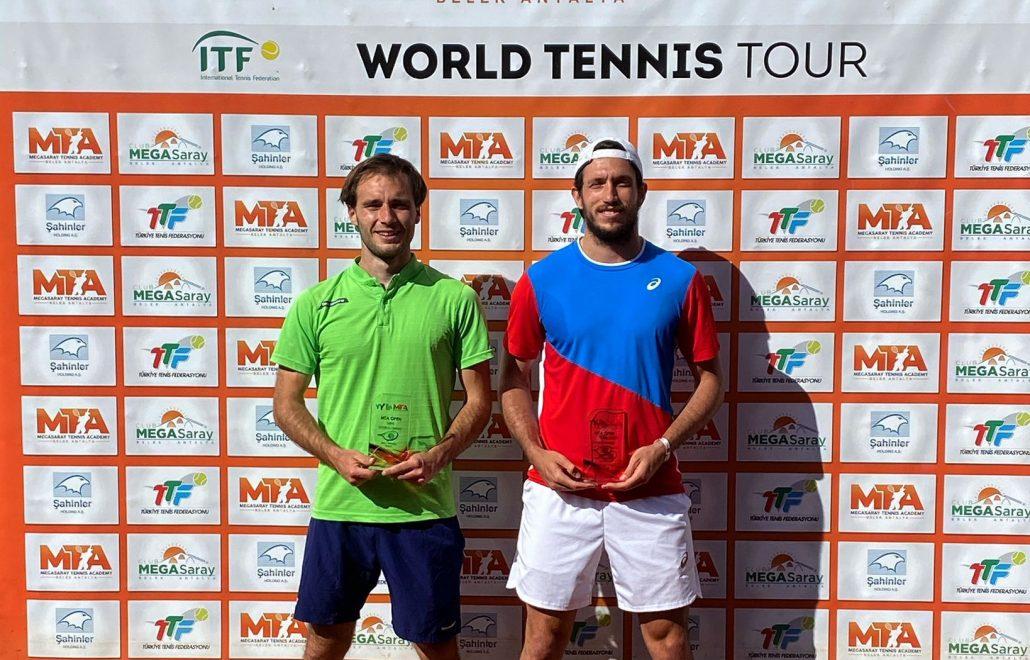 ITF Antalya: per Federico Bertuccioli finale amara in doppio
