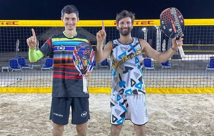Beach Tennis: Giovannini e Gasparri-Valentini, che doppiette negli Emirati!