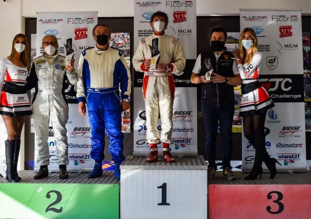 Auto: Giorgio Errani e Alberto Migliardi secondi nel Campionato GT3Isti Challenge Porsche